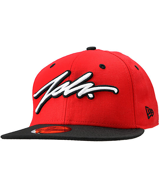 JSLV Chicago Red & Black New Era Fitted Hat