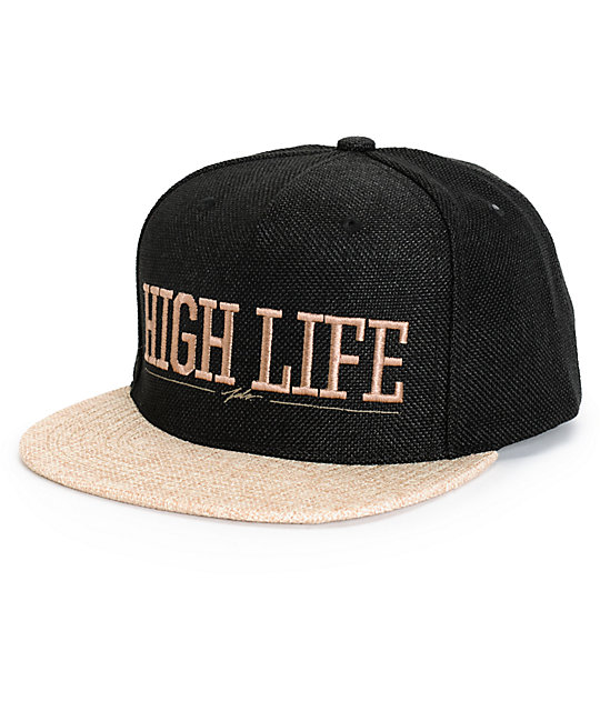 d2a49651a55 JSLV High Life Hemp Snapback Hat