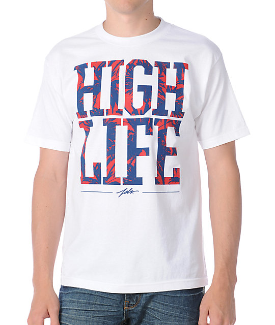 JSLV High Life White T-Shirt