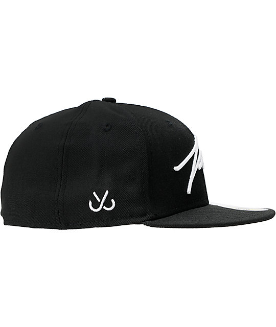 JSLV Signature Black New Era Fitted Hat