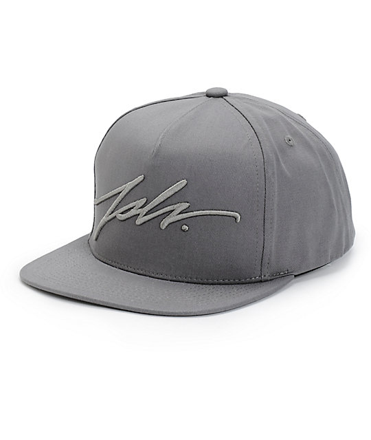 23576906b5a JSLV Signature Snapback Hat