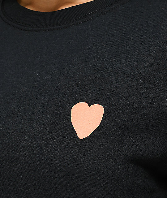 JV by Jac Vanek All The Dog Heart camiseta negra de manga larga