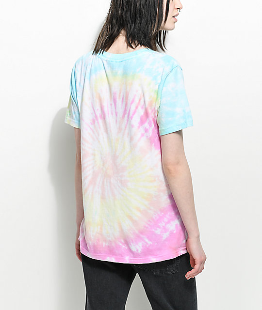 JV by Jac Vanek Worst Behavior Tie Dye T-Shirt