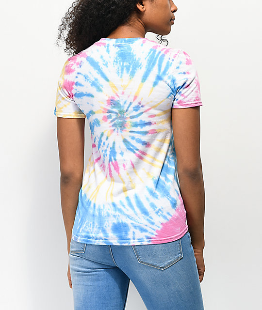 JV by Jac Vanek You Tried camiseta tie dye