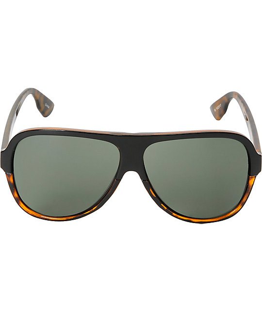 Jack Martin Bawse Brown Tortoise Sunglasses