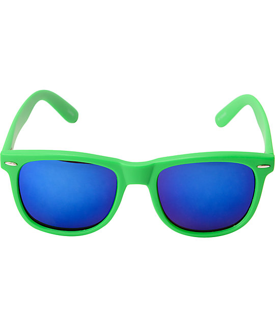 Jack Martin Frisky Business Assorted Neon Mirrored Sunglasses
