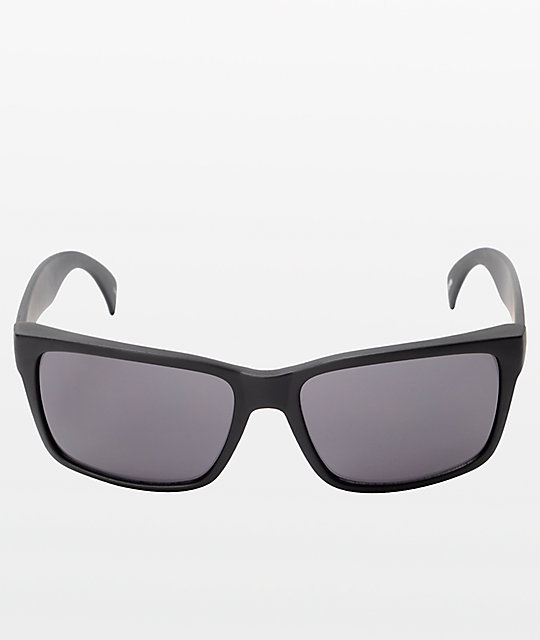 Jack Martin Get Pitted Matte Black Sunglasses