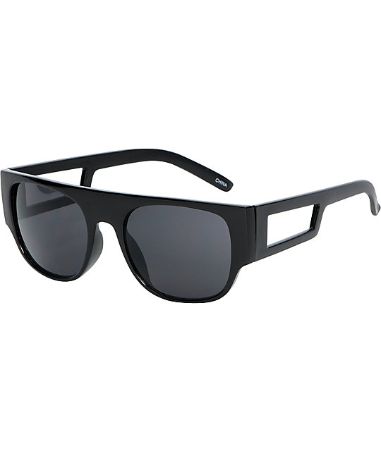 Jack Martin Out & About Black Sunglasses