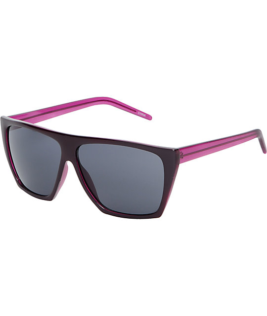 Jack Martin Sturdy Wings Crystal Purple Sunglasses