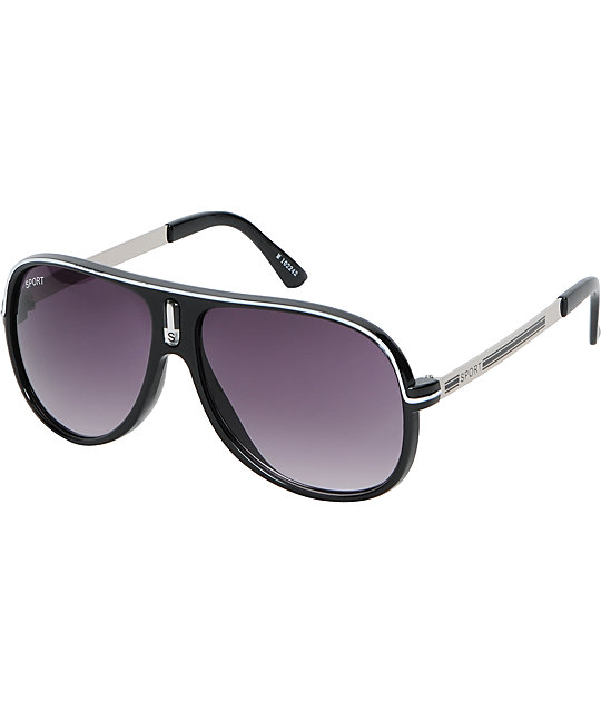 Jack Martin The Sport Black Sunglasses