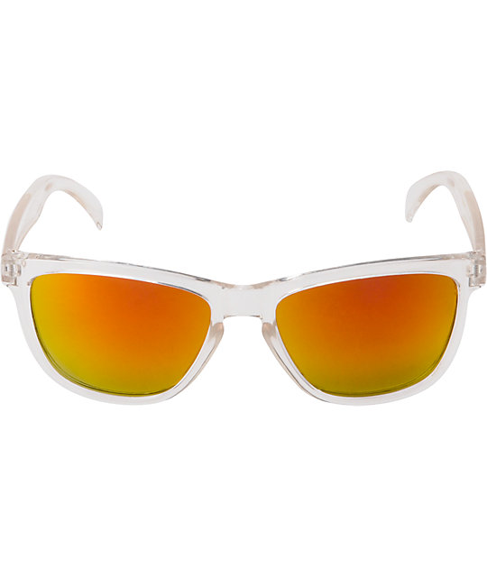 Jack Martin Tube Steak Clear Sunglasses