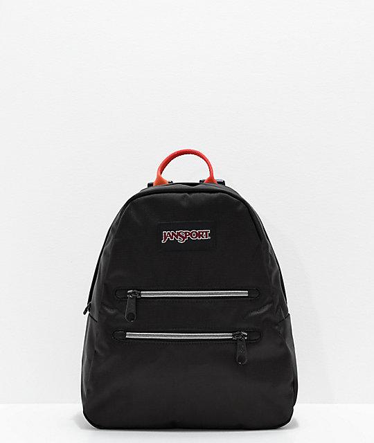 exquisite design compare price limited quantity JanSport Half Pint 2 Black & Rainbow Mini Backpack