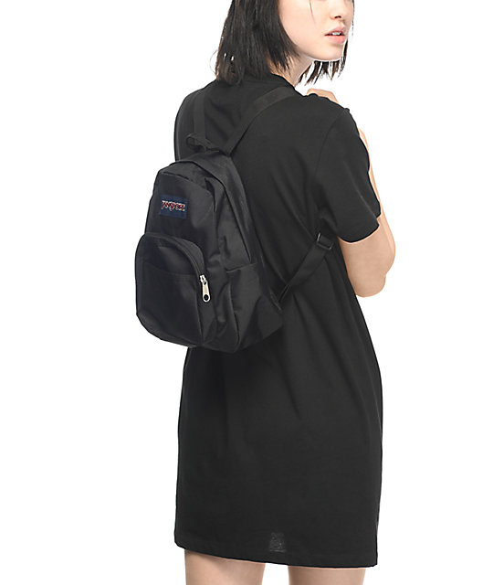 737f728ce4f5 ... JanSport Half Pint Black Backpack ...