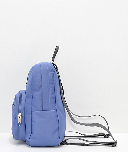JanSport Half Pint Bleached Denim Mini Backpack