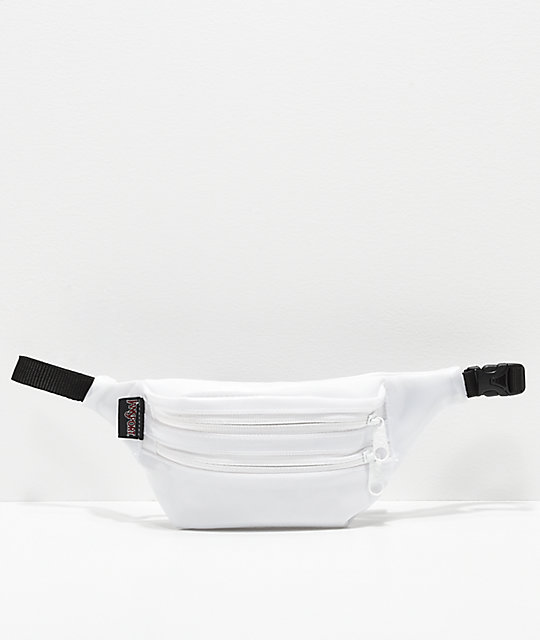 JanSport Hippyland Translucent White Fanny Pack