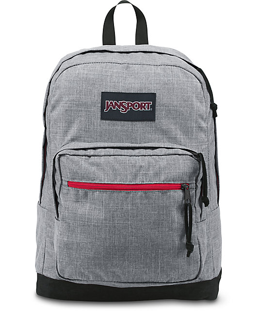 443577b872 JanSport Right Pack Expressions 31L Grey Marl Backpack