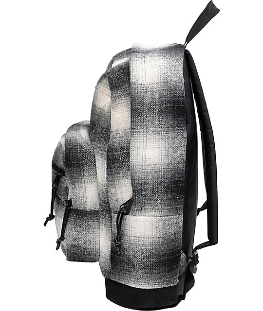 JanSport Right Pack Grey Plaid Backpack
