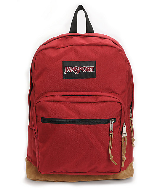 JanSport Right Pack Red Laptop Backpack