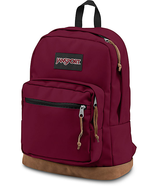 d0028ca03 JanSport Right Pack Russet Red 31L Backpack | Zumiez