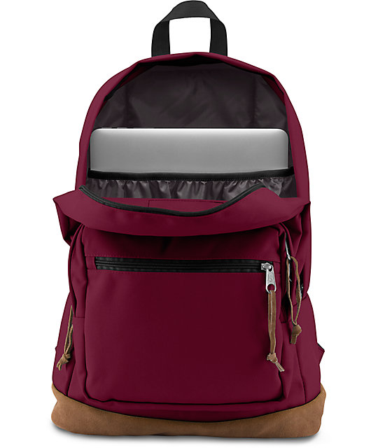 5e22b324cc JanSport Right Pack Russet Red 31L Backpack | Zumiez