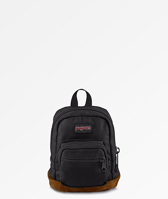 JanSport Right Pouch Black Mini Backpack