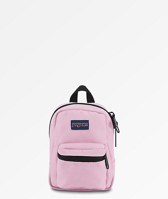 finest selection various design 2018 shoes JanSport Right Pouch Lil Break Pink Mini Backpack