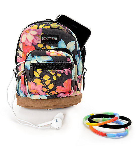 36b82ade870 ... JanSport Right Pouch Multigarden Delight 05L Mini Backpack Zumiez