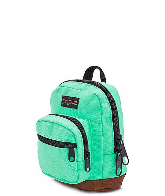 256fcf11116 ... backpacks jansport Source · JanSport Right Pouch Seafoam Green 05L Mini  Backpack Zumiez