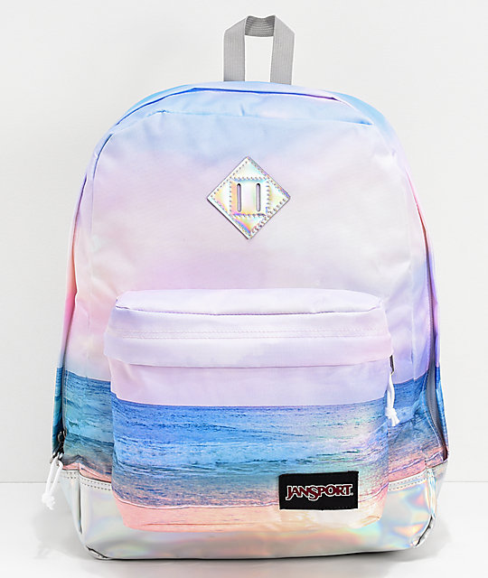 JanSport Super Fx Multi Sunrise Backpack