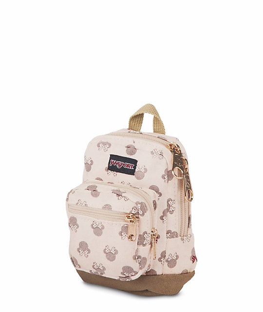 5900e21d5a8 ... JanSport x Disney Right Pouch Luxe Minnie .05L Mini Backpack ...