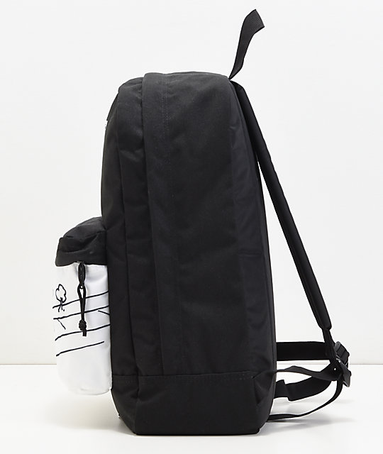 JanSport x Mark Gonzales The Gonz FX Black & White Backpack