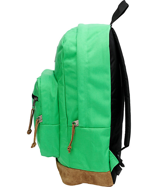 Jansport Right Pack Green & Tan Backpack