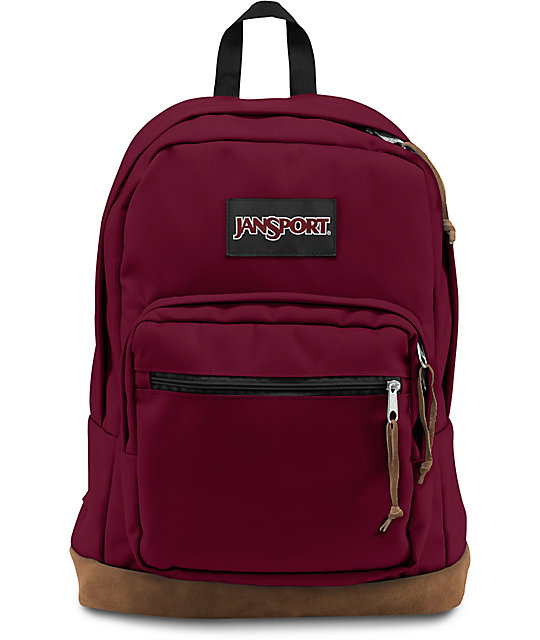 Jansport Right Pack Russet Red 31L Backpack