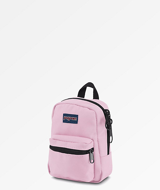 Jansport Right Pouch Lil Break mini mochila rosa