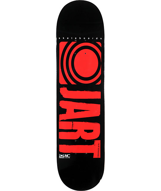 "Jart Basic Logo 8.0""  Skateboard Deck"