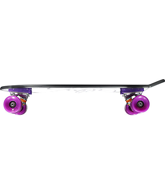"Jelly Kingslayer 26"" Grape Cruiser Complete Skateboard"
