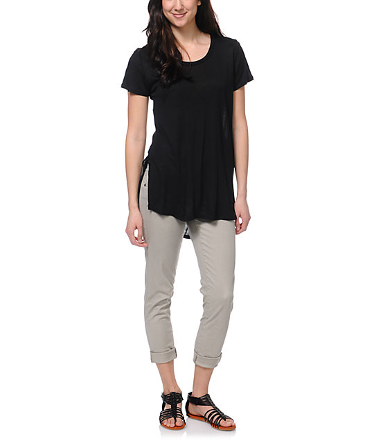 Jolt Black Tunic T-Shirt