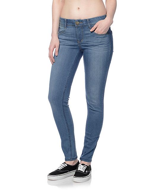 7b995b8509f0e Jolt Techno Tuck Medium Blue Skinny Jeans | Zumiez