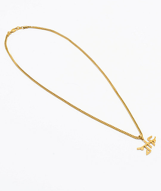 "Just Have Fun X The Gold Gods JHF Back to Basic 26"" Gold Chain Necklace"