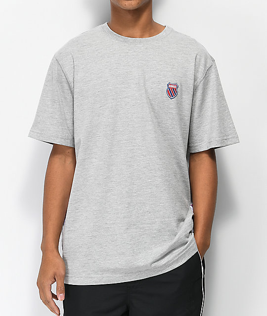 K-Swiss Badged camiseta gris