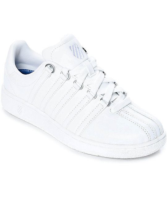 1db2048fb7c4 K-Swiss Classic VN All White Shoes