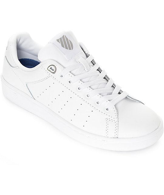 K-Swiss Clean Court CMF White Shoes