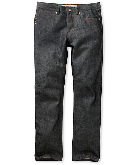 KR3W Basic Raw Blue K Slim Jeans