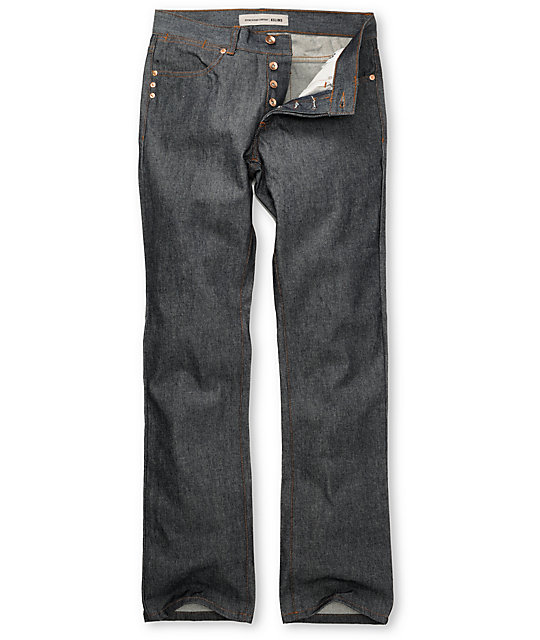 KR3W Basic Raw Wash K Slim Jeans