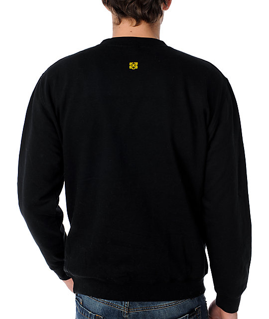 KR3W Champ Black Crew Neck Sweatshirt
