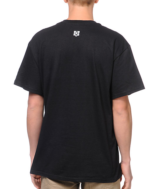 KR3W Crest Stamp Black T-Shirt