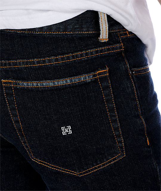 KR3W EE Slims Ridge Blue Jeans