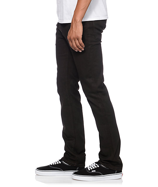 KR3W Erik Ellington Brown K Slim Jeans
