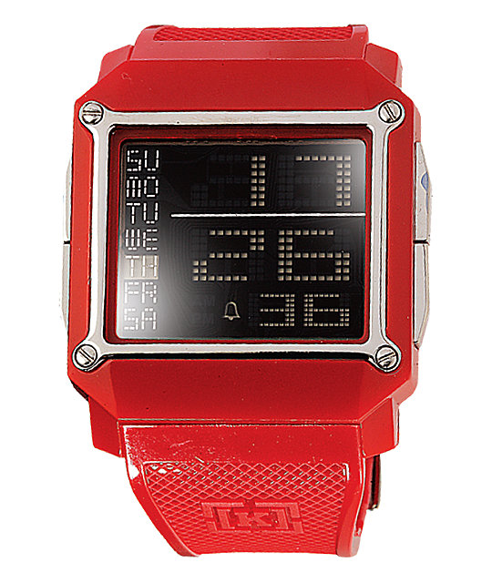 KR3W Halo Red Watch