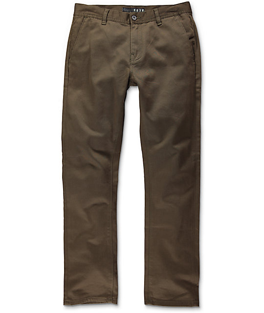 KR3W  K Slim Chino Pant  Men's 65107